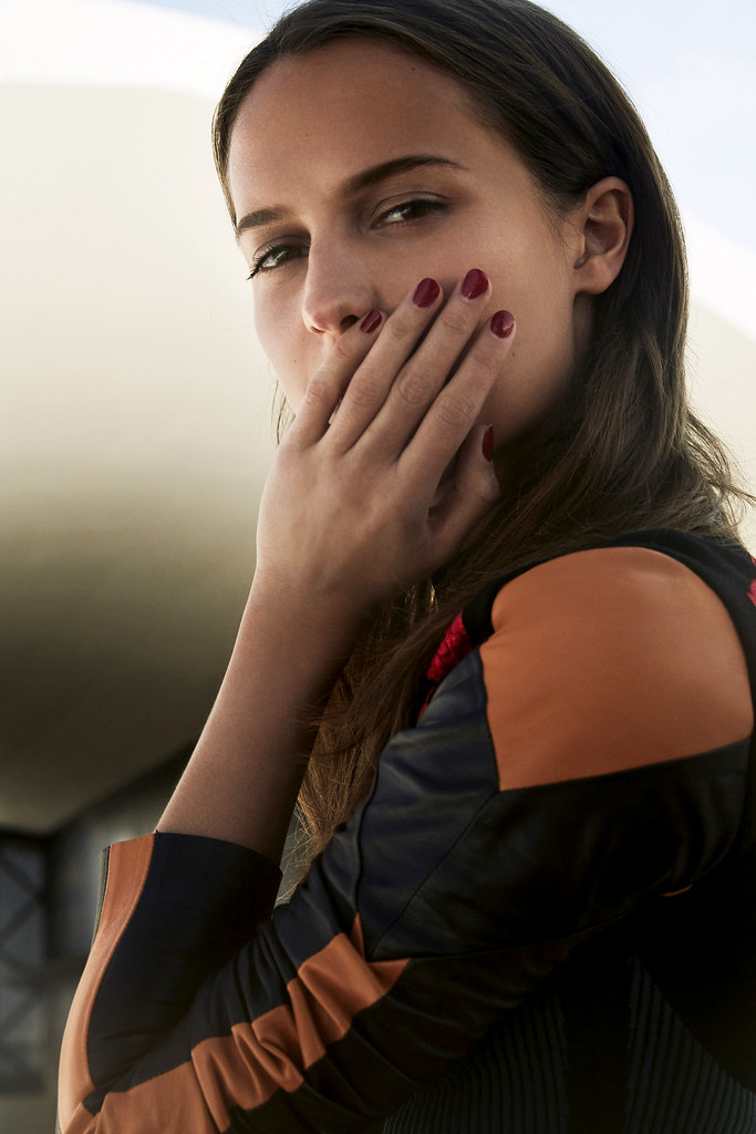 Алисия Викандер — Фотосессия для «Marie Claire» FR 2016 – 3