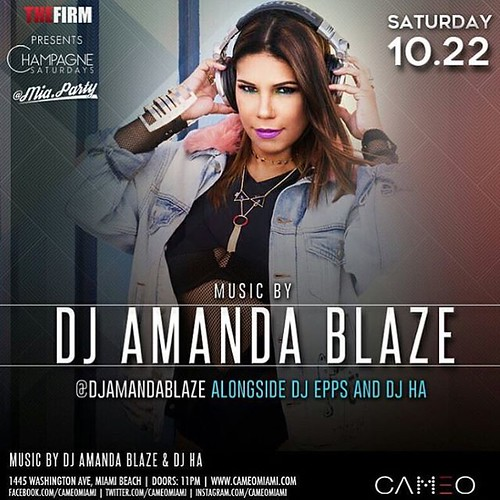 Tonight I am rockin at Cameo Nightclub w/ @lajanslim live :fire::fire::fire: @djepps @djha168 @thefirmmia @cameomiamiofficial #southbeach #miami