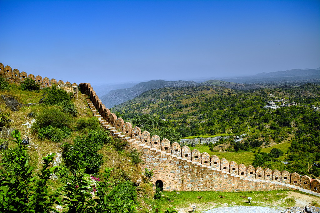 Fuerte Kumbhalgarh Udaipur Division India Around
