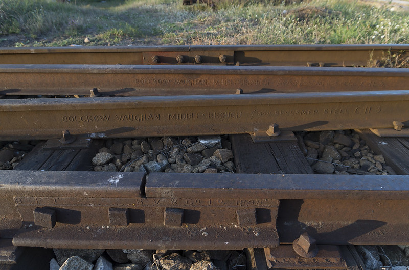 More than 100 years old rails, 15.09.2015.
