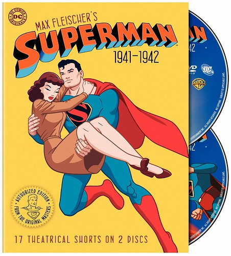 Superman, Max Fleischer's (1941-1942) cover