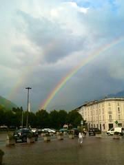 Due arcobaleni a Tirano
