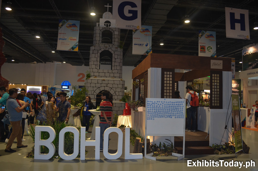 Bohol Tourism Trade Show Display