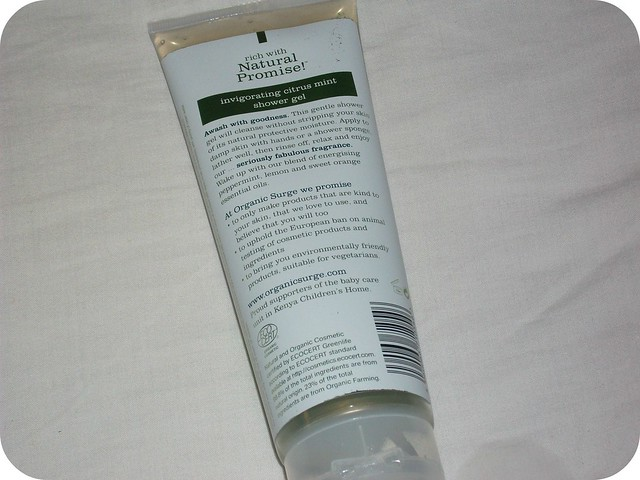 Organic Surge Invigorating Citrus Mint Shower Gel