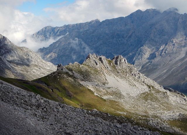 in the Picos de Europa in northern Spain