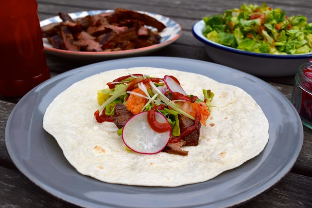 Building Korean Barbecue Tacos