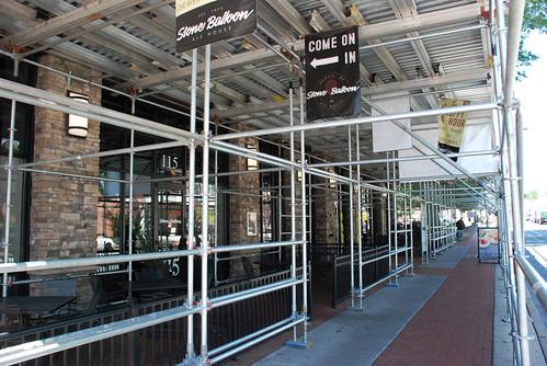 Non union, scaffold, scaffolding, rental, rentals, rent, rents, construction, historic buildings, inspection, art, design, sales, DE, MD, PA, NJ, (302) 650-0520, pinnacle scaffold, repointing, masonry, shoring, subcontractor, GC, open shop