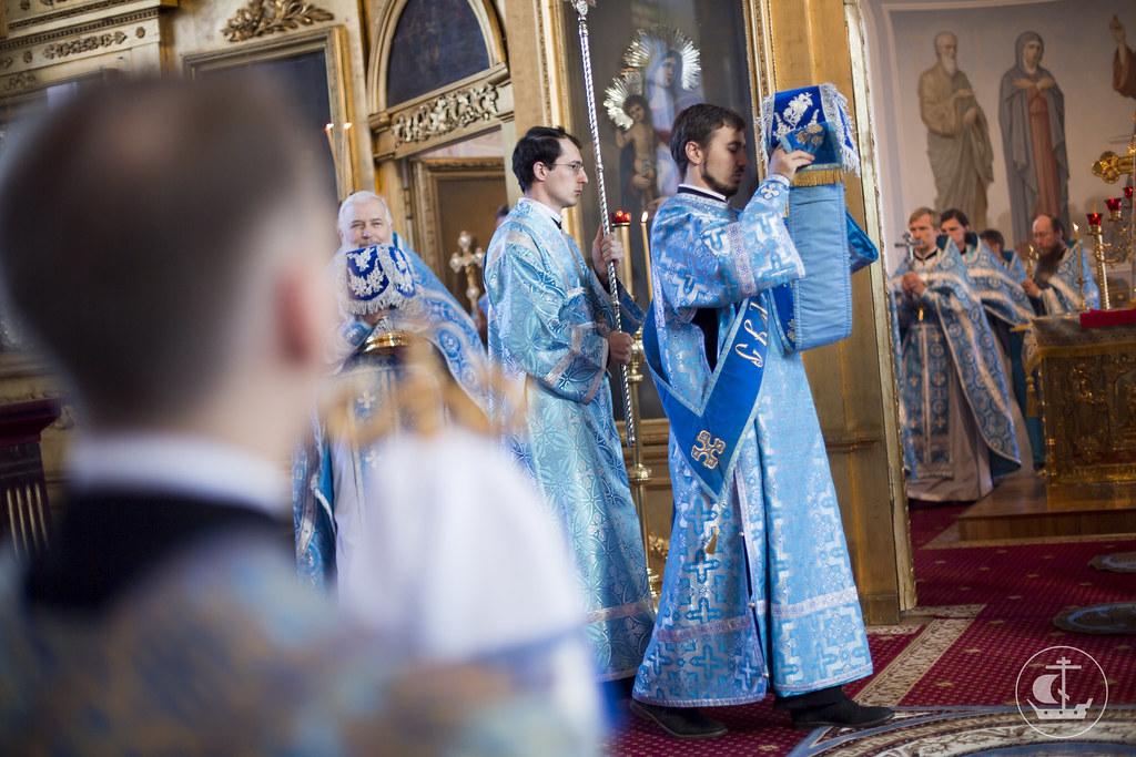 30 августа 2015, Литургия в Неделю 13-ю по Пятидесятнице / 30 August 2015, Liturgy on the 13th Sunday after Pentecost