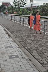 Monks in Vientiane, Laos