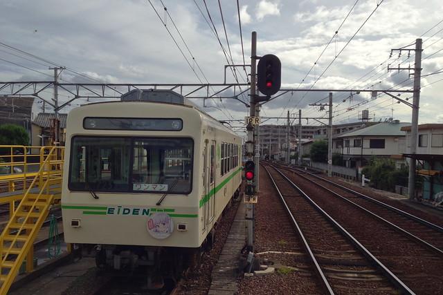 2015/09 叡山電車×NEW GAME! ラッピング車両 #30