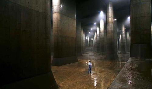 cống khổng lồ dưới lòng tokyo 1