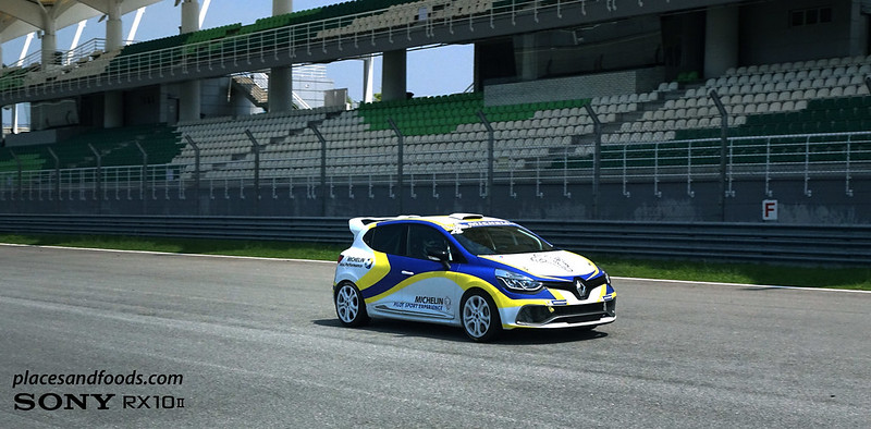 Michelin pilot sport experience renault track