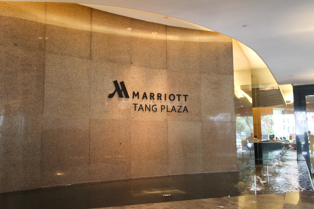 Singapore Marriott Tang Plaza Sign