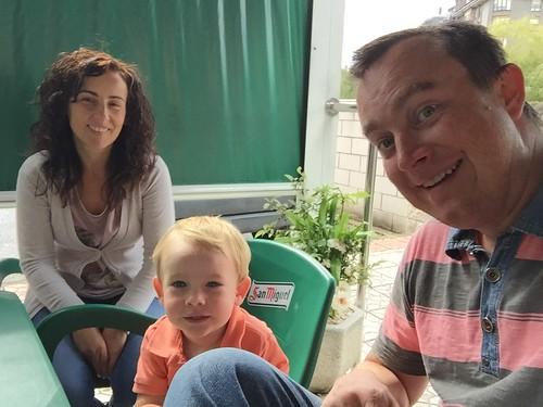 Marga, Ian, Erik Selfie