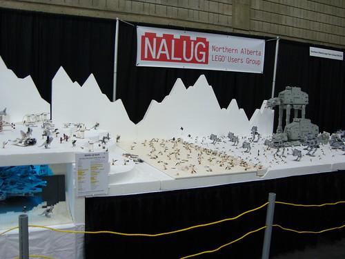 Edmonton comic Expo lego NALUG