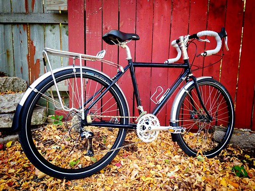 Cea's custom painted Surly Disc Trucker!