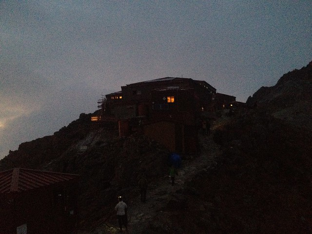 槍ヶ岳 新穂高(右俣谷)~飛騨沢ルート 槍ヶ岳山荘