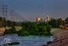 Los_angeles_river_skyline by CitizenOfThePlanet