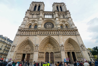 Image of Cathedral of Notre Dame de Paris.