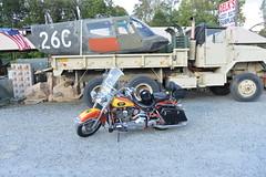 Motorcycle Harley Davidson 1994 Heritage Softail Army Surplus Jade 20151008_7690