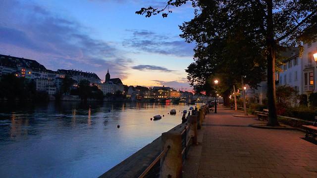 Basel hat keinen See