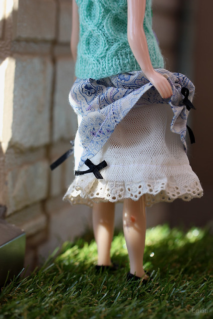knitted sweater and skirt sets
