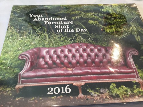Your Abandoned Furniture Shot of the Day 2016 Calendar by Louie Ludwig