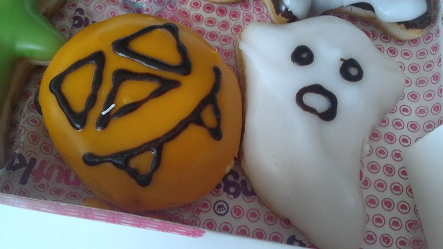 Donut King Halloween Donuts