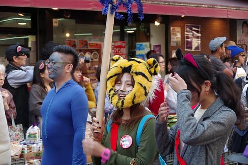 Cat's Halloween Parade in Kagurazaka 2015 13