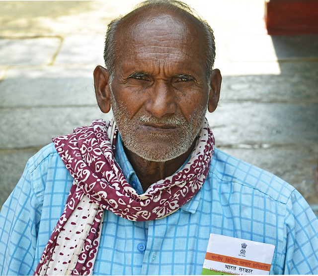 """""""In the 1980s, our village had 200 acres of grazing land for our cattle but due to the company's greed and government's negligence, only 2 acres are left. We now have to buy fodder"""", says Lokram Verma, a senior activist of the village."""