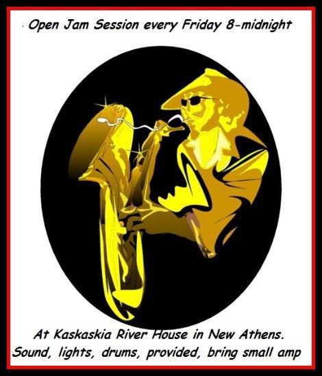 Kaskaskia River House Friday Jam