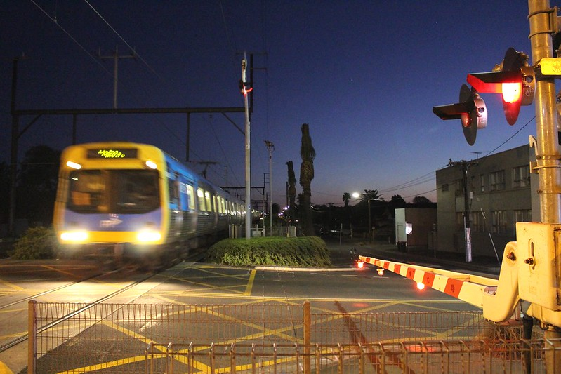 Bentleigh level crossing