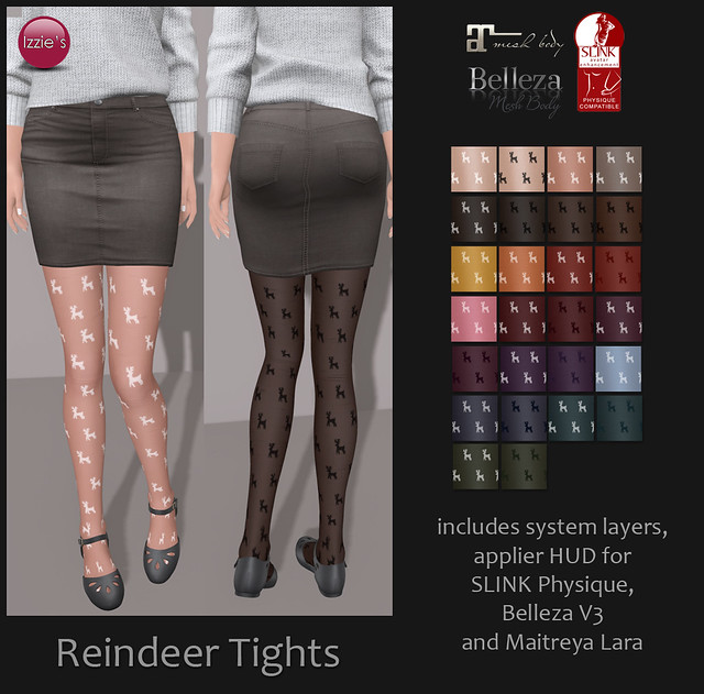 Reindeer Tights