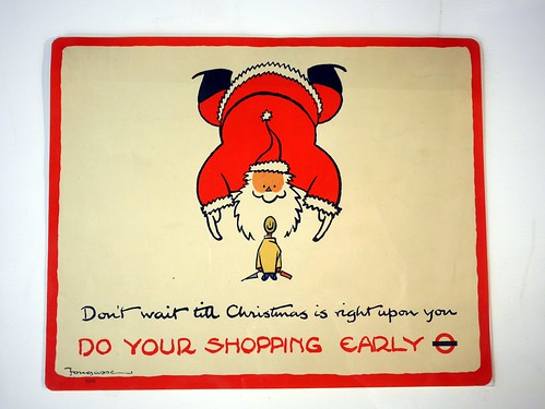 Fat Falling Santa