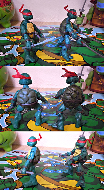 "Nickelodeon ""HISTORY OF TEENAGE MUTANT NINJA TURTLES"" FEATURING LEONARDO - COMIC BOOK LEONARDO iv / with COMIC LEO tOkKustom wash '14 (( 2015 ))"