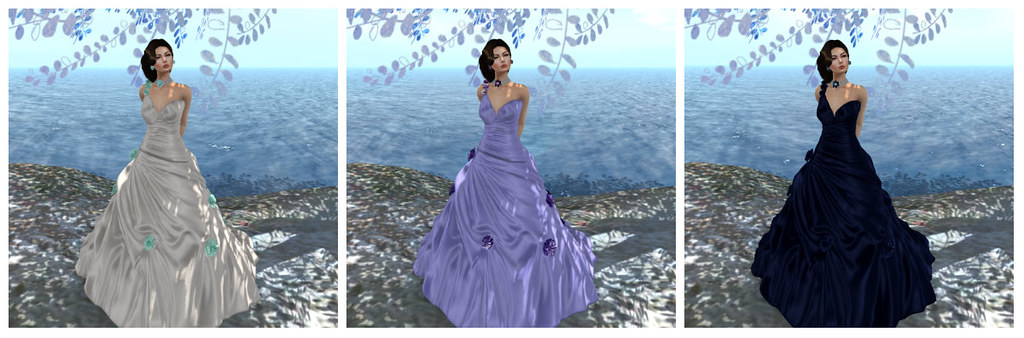 Melissa gown sample recolors