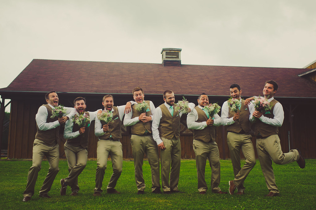 Well-Groomed Groom Groom & Groomsmen Attire3