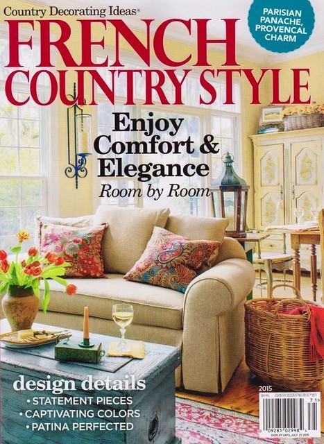 French Country Style Magazine - Housepitality Designs