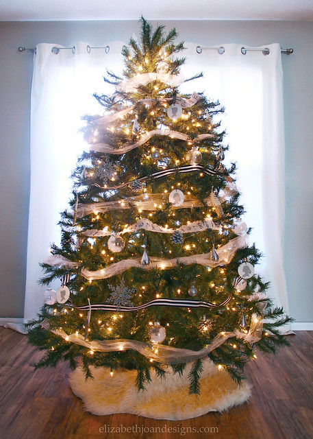 Neutral Modern Christmas Tree