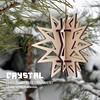 Crystal. Christmas tree ornament by cartonus