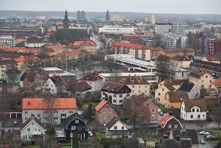 View of Örebro from the Svampen