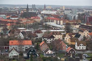 View of Örebro from the Svampen