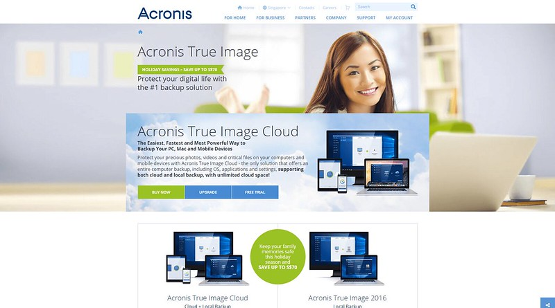 Acronis Updates True Image Cloud & True Image 2016
