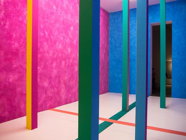 Ein Raum für Apollo, 2015, Heinz Mack