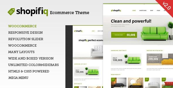 Shopifiq v2.4.2 - Responsive WordPress WooCommerce Theme