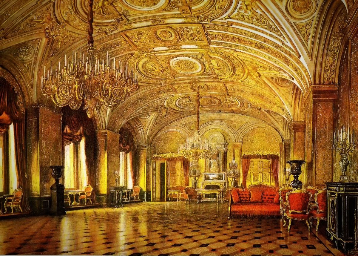 Golden Drawing Room, 1860