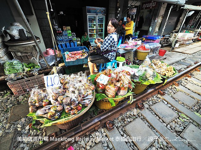 美功鐵道市場 Maeklong Railway Market 泰國自由行 34