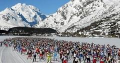 Běžky: Engadin Skimarathon