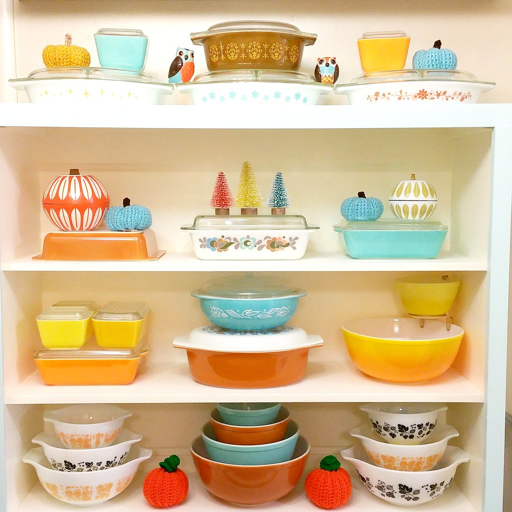 Fall Pyrex Display 2016