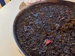 ¡Arroz negro! Yummy!! 😋👍 Food Mediterraneo…